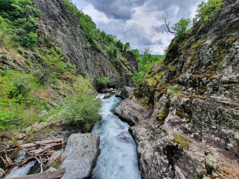 Екопътека Бяла Река гледка