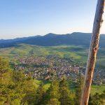 Поглед на Равногор от Света Неделя
