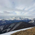 Гледка към Триглавия масив на Стара Планина