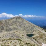 Гледка към връх Полежан от малък Полежан