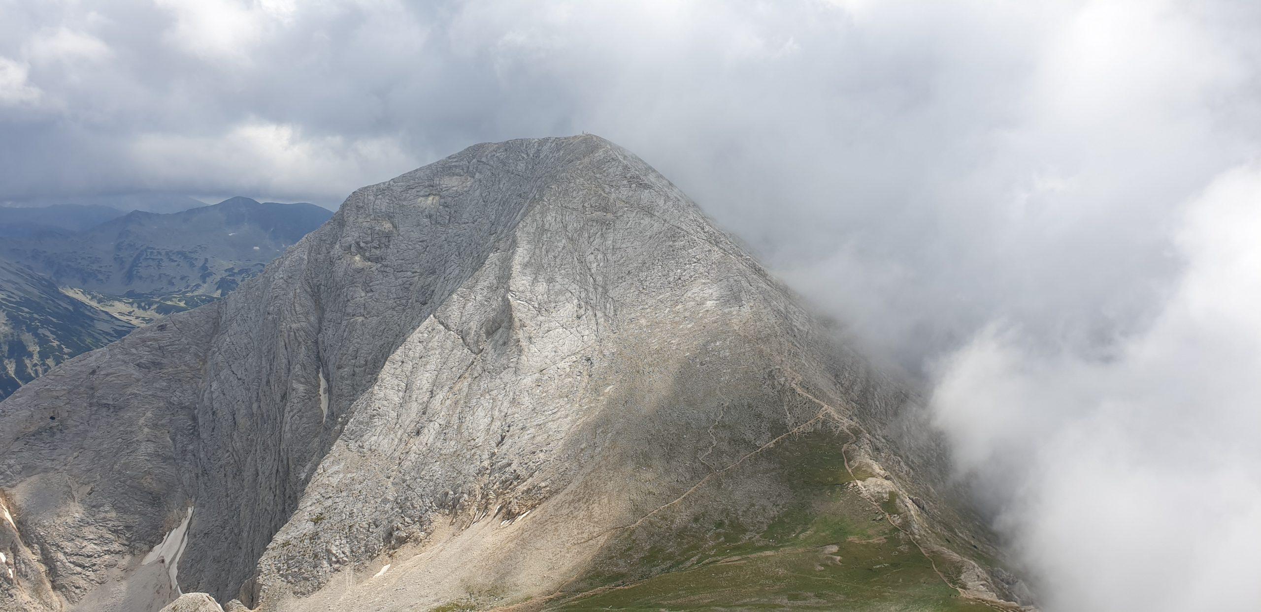 Гледка към връх Вихен от Кутело