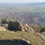 Гледка над град Карлово от Кръста
