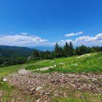 Снимка от връх Милеви скали към север