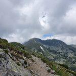 Гледка към връх Мусала, Трионите и Малка мусала