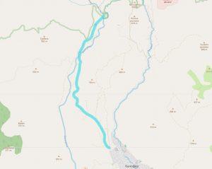 Маршрут от Калофер до екопътека Бяла река