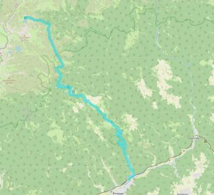 Маршрут от Якоруда до езеро Грънчар