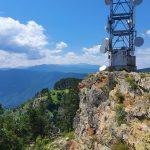 Сателитна кула на връх Милеви Скали