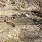 Мостче над Фотинска река преди водопадите