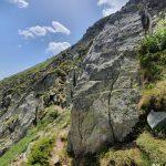 Патека на билото към връх Каменица