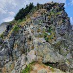 Въжето преди връх Каменица