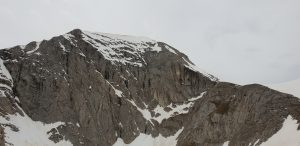Гледка към връх Вихрен в зимни условия