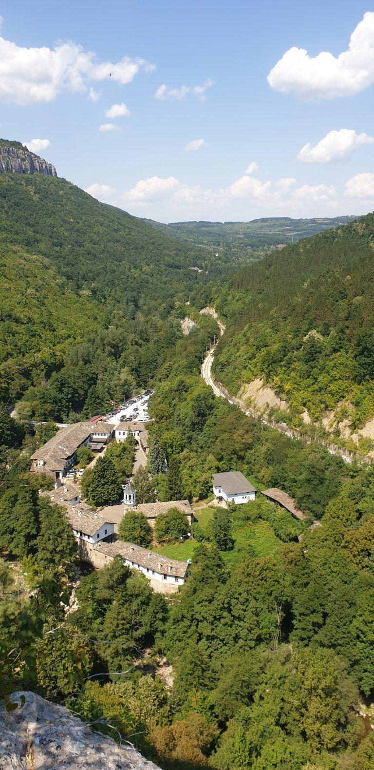 Панорамна гледка от Дряновска екопътека