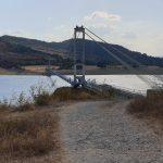 Гледка към въжен мост Лисиците