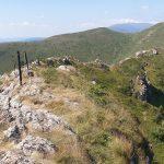 Колове и въжета близо до връх Козя Стена