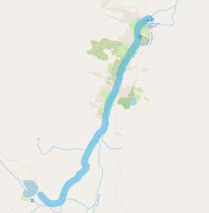 Маршрут от хижа Вихрен до Муратово езеро
