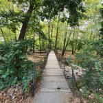 Моста по пътеката към Водопада