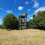 Наблюдателна кула близо до връх Богдан