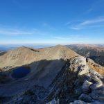 Гледка към връх Малка Мусала и Трионите