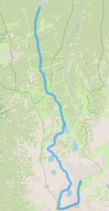 Маршрут от хижа Ястребец до връх Иречек