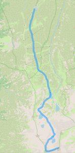 Маршрут от хижа Ястребец до връх Малка Мусала