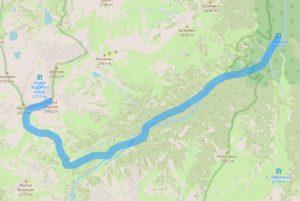 Маршрут от хижа Марица до връх Малка Мусала